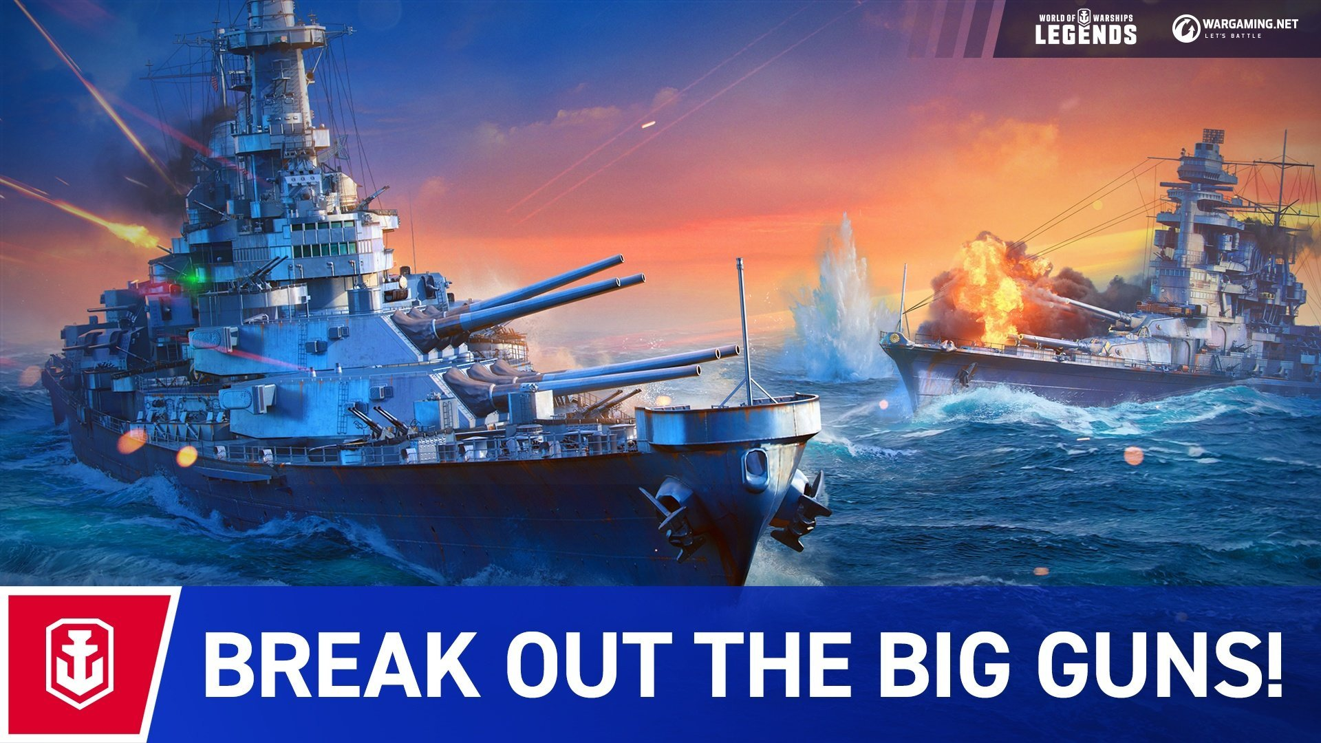 WoWS: Legends - Become a naval legend - WoWS: Legends
