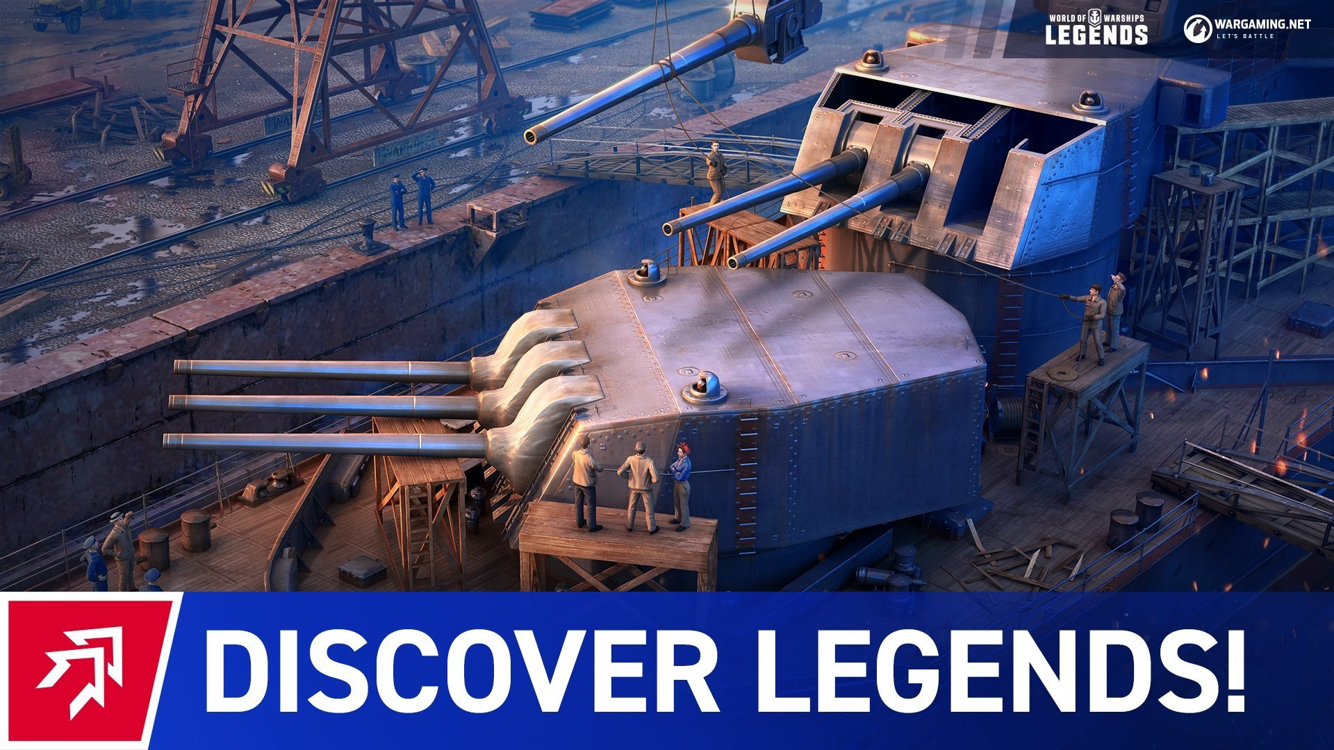 WoWS: Legends - Become a naval legend - WoWS: Legends